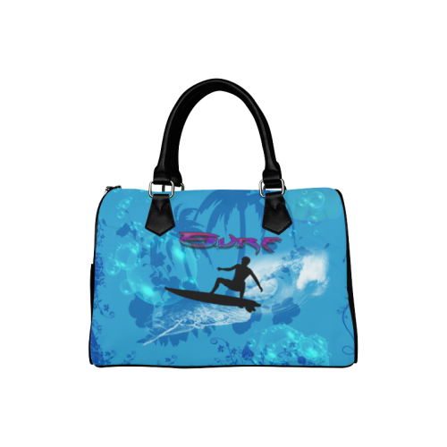 Surfing Boston Handbag (Model 1621)