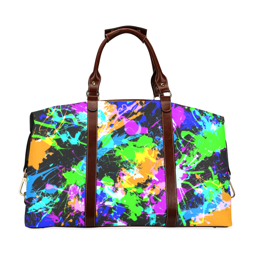 PAINT SPLASH Classic Travel Bag (Model 1643)
