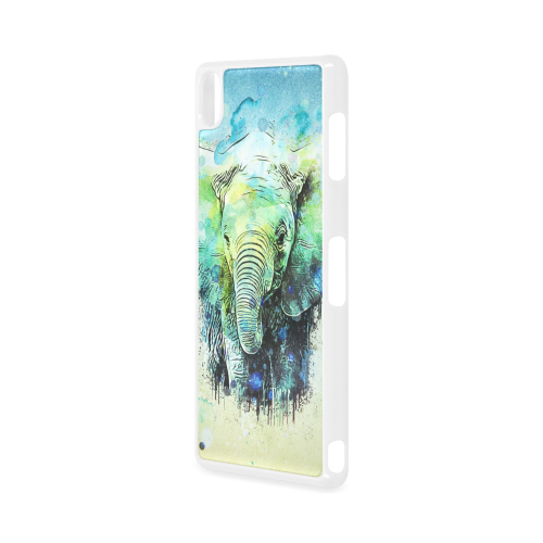 watercolor elephant Hard Case for Sony Xperia Z3
