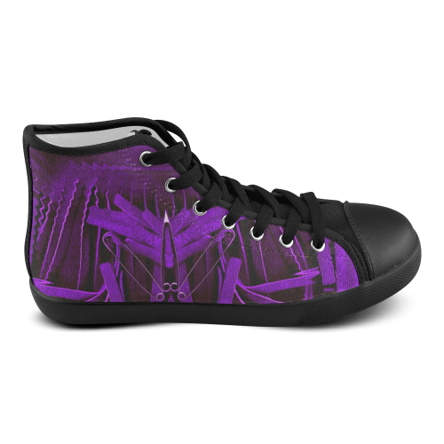 Why Not Women's High Top Canvas Shoes (Model 002)