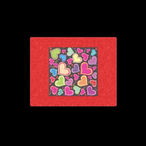"cute heart Blanket 40""x50"""