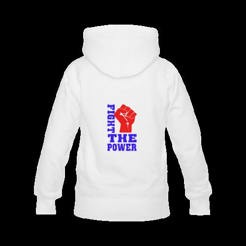FIGHT THE POWER Men's Classic Hoodies (Model H10)