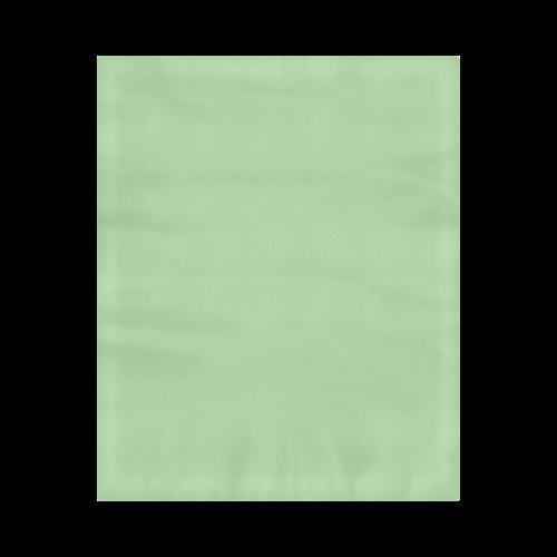 "Pistachio Color Accent Duvet Cover 86""x70"" ( All-over-print)"