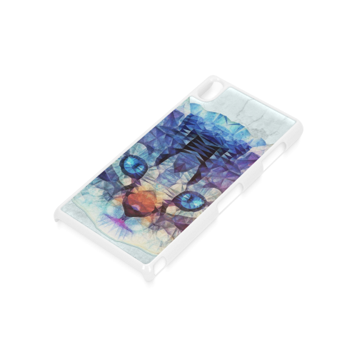 abstract kitten Hard Case for Sony Xperia Z3