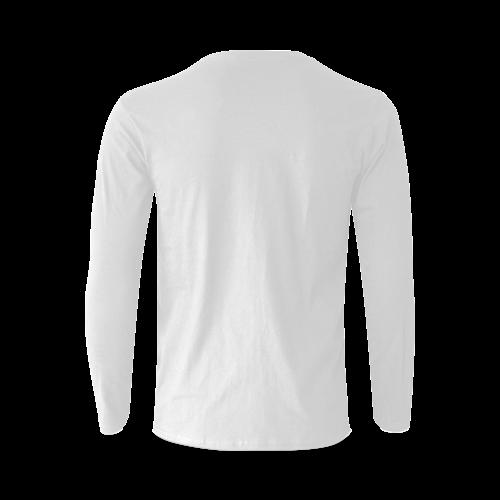 SITTING BULL Sunny Men's T-shirt (long-sleeve) (Model T08)