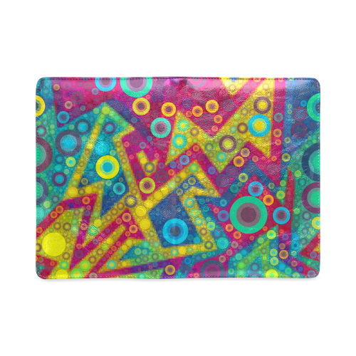Psychedelic Bubbles Custom NoteBook A5