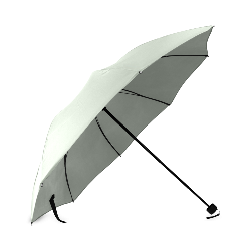 Sea Foam Color Accent Foldable Umbrella
