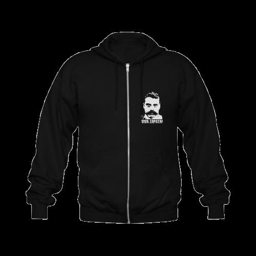 VIVA ZAPATA Gildan Full Zip Hooded Sweatshirt (Model H02)