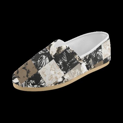 Foliage Patchwork #8 - Jera Nour Unisex Casual Shoes (Model 004)