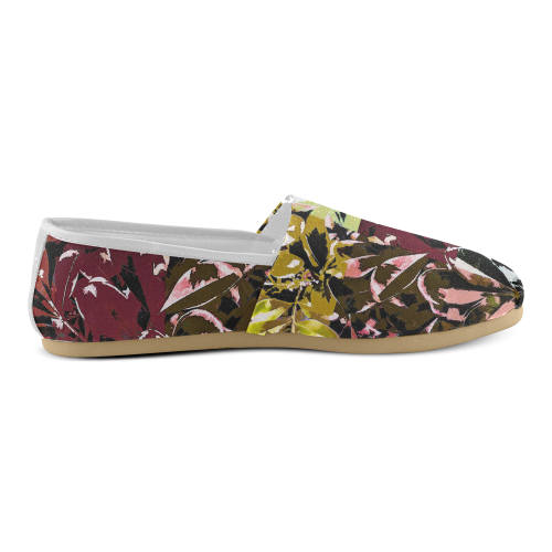 Foliage Patchwork #6 - Jera Nour Unisex Casual Shoes (Model 004)