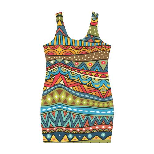 Aztec(12) Medea Vest Dress (Model D06)