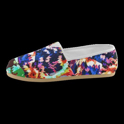 Foliage Patchwork #7 - Jera Nour Unisex Casual Shoes (Model 004)