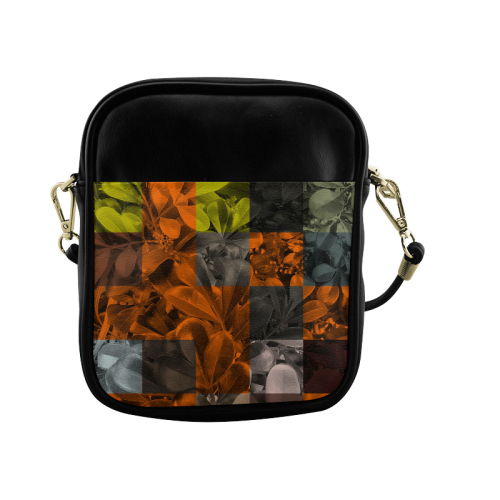 Foliage Patchwork #9 - Jera Nour Sling Bag (Model 1627)