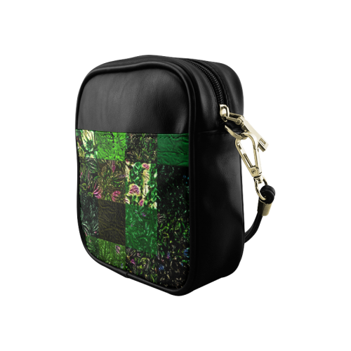 Foliage Patchwork #1 - Jera Nour Sling Bag (Model 1627)