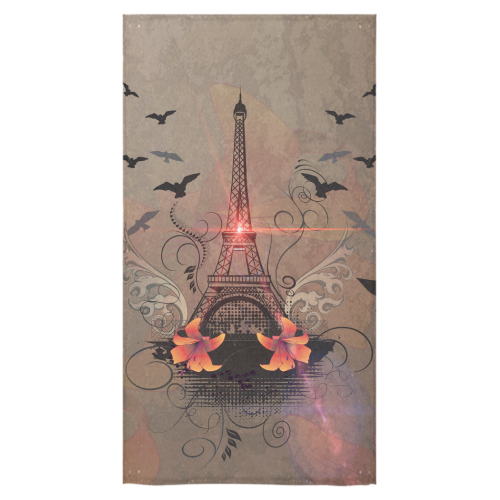 "Eiffel tower Bath Towel 30""x56"""