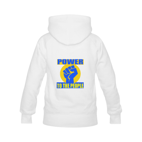 POWER TO THE PEOPLE Women's Classic Hoodies (Model H07)