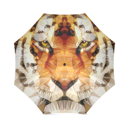 abstract tiger Foldable Umbrella