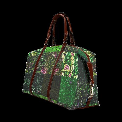 Foliage Patchwork #1 - Jera Nour Classic Travel Bag (Model 1643)