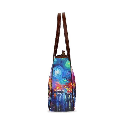 Oil Painting Classic Tote Bag (Model 1644)