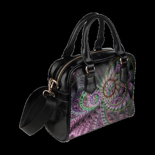 Julian Circus Rings Shoulder Handbag (Model 1634) | ID: D193686