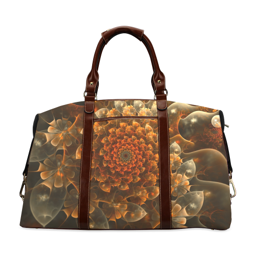 Bloom of Beauty Classic Travel Bag (Model 1643)
