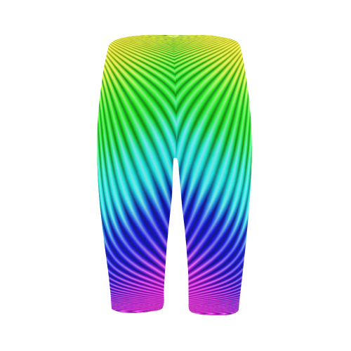 Rainbow Hestia Cropped Leggings (Model L03)