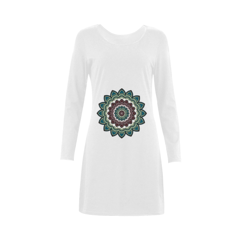 Mandala I Demeter Long Sleeve Nightdress (Model D03)