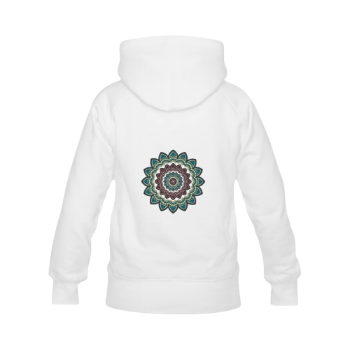 Mandala I Women's Classic Hoodies (Model H07)
