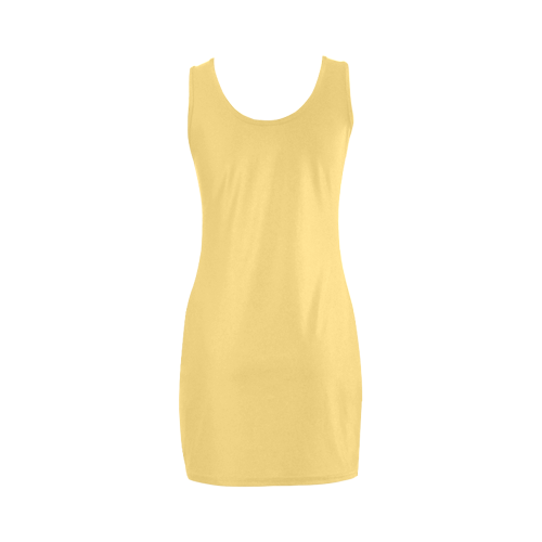 Lemon Drop Color Accent Medea Vest Dress (Model D06)