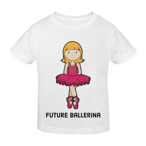 Future Ballerina - dancing ballet girl illustratio Sunny Youth T-shirt (Model T04)