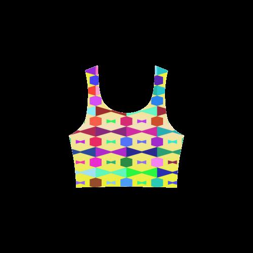 Funny vivid pattern 1 Atalanta Sundress (Model D04)