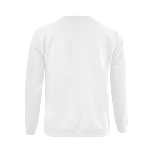 best dad grey father Gildan Crewneck Sweatshirt(NEW) (Model H01)