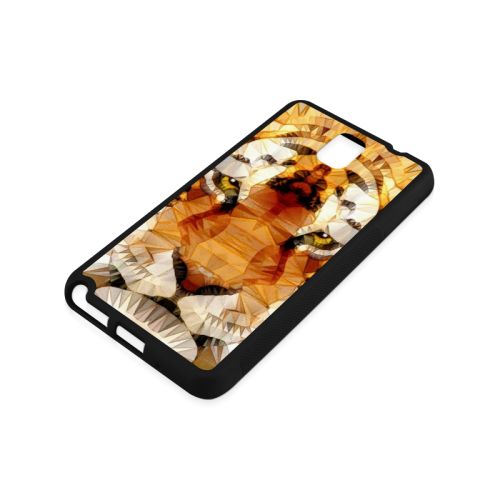 abstract tiger Rubber Case for Samsung Galaxy Note 3