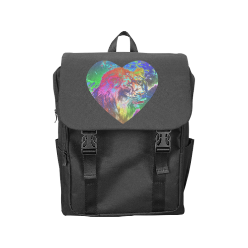 NEON Lion Casual Shoulders Backpack (Model 1623)