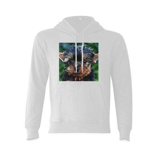 animal artstudion 14416 puppy Gildan Hoodie Sweatshirt (Model H03)