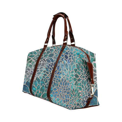 Floral Abstract 1 Classic Travel Bag (Model 1643)