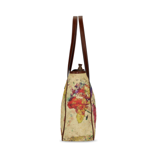 Retro style Old Map Classic Tote Bag (Model 1644)