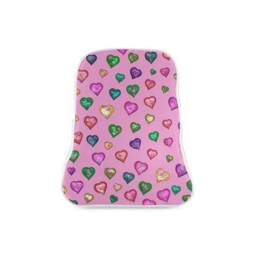 Shimmering hearts School Backpack/Large (Model 1601)