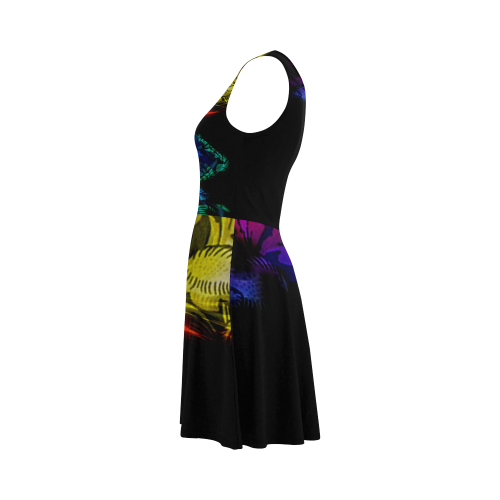 Abstract design Atalanta Sundress (Model D04)