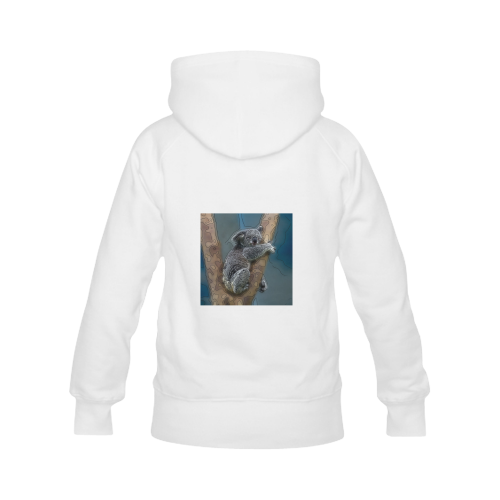 animal artstudion 16416 koala Women's Classic Hoodies (Model H07)