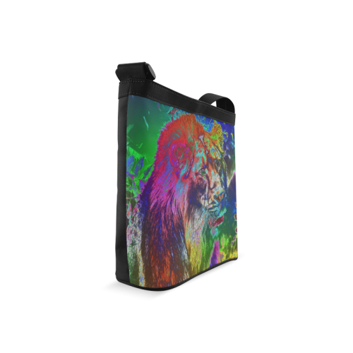 NEON Lion Crossbody Bags (Model 1613)
