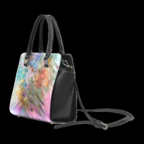 Konfettie by Nico Bielow Rivet Shoulder Handbag (Model 1645)