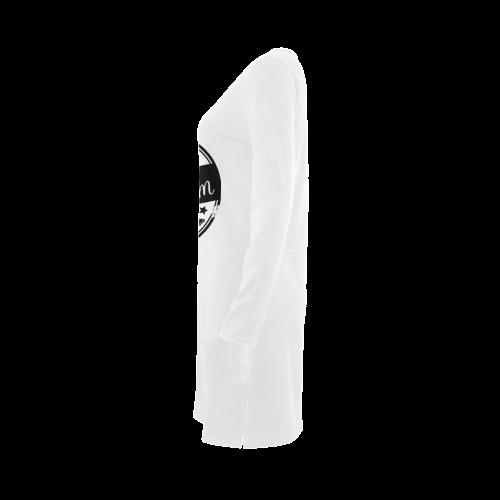 best mom black mother Demeter Long Sleeve Nightdress (Model D03)
