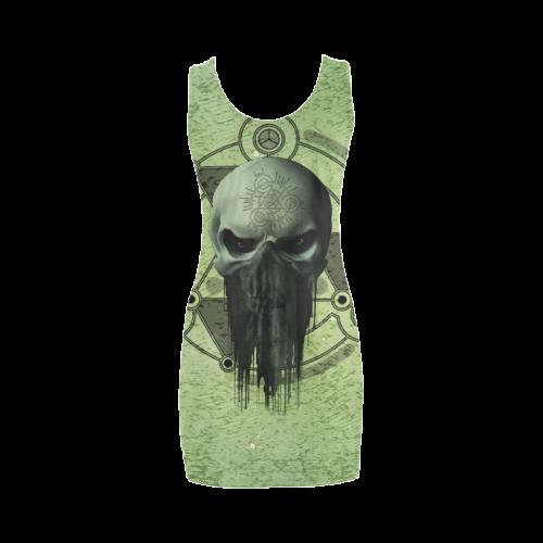 Awesome skull Medea Vest Dress (Model D06)