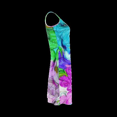 strange abstract 4 Alcestis Slip Dress (Model D05)