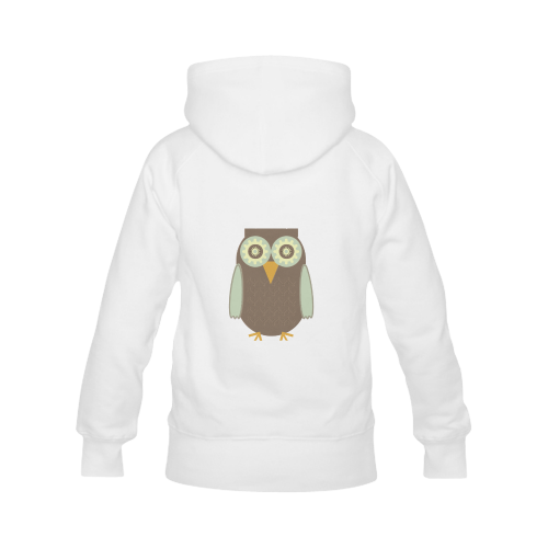 Brown Owl Men's Classic Hoodies (Model H10)
