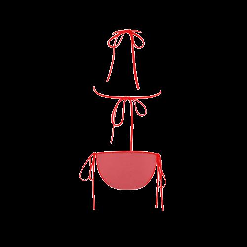 Cayenne Color Accent Custom Bikini Swimsuit