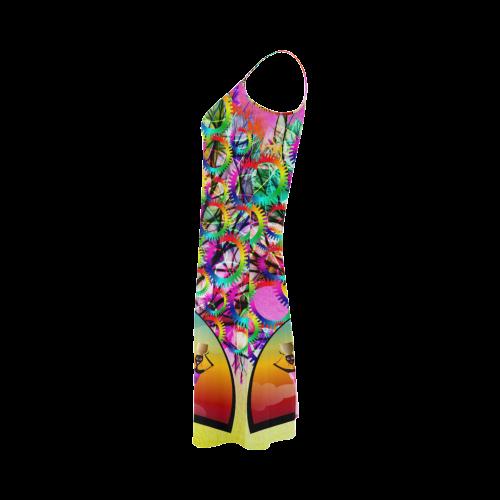African American Women Alcestis Slip Dress (Model D05)
