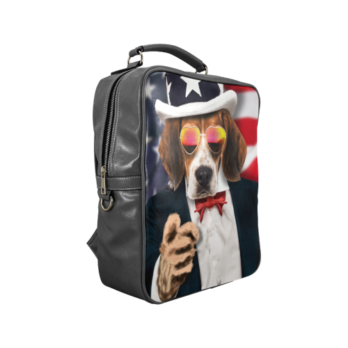 Dog Square Backpack (Model 1618)