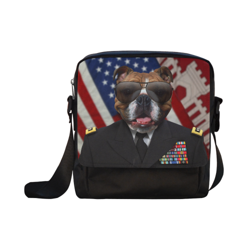 Dog Crossbody Nylon Bags (Model 1633)